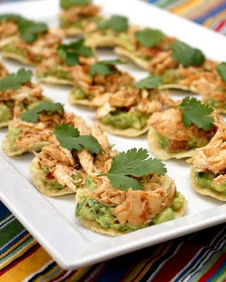 Chicken Tostada Bites