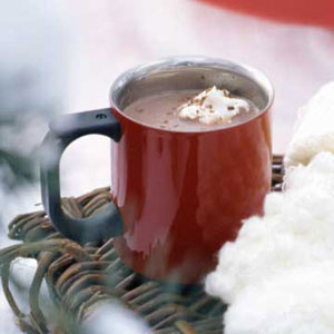 Yummy Hot Caramel Chocolate!