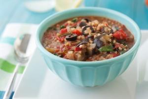 Mediterranean Vegan Vegetable Stew