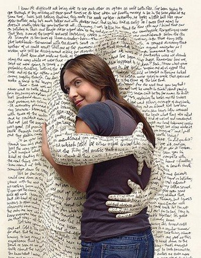 What reading a good book feels like ...