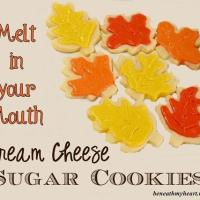 Cream Cheese Sugar Cookies!
