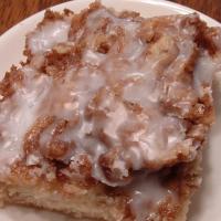 Cinnamon Roll Cake!