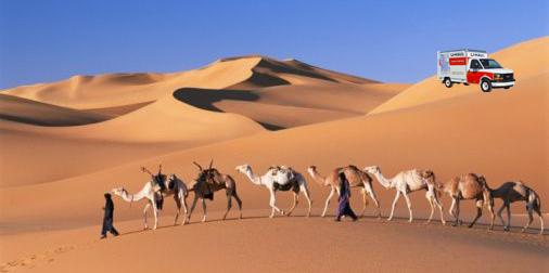 uhaul-in-desert