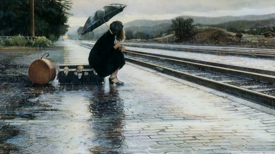 waiting_for_a_train_in-the-rainy-day
